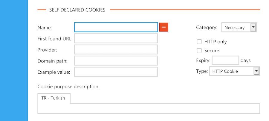 Cookiebot Çerez Tanımlama İşlemleri