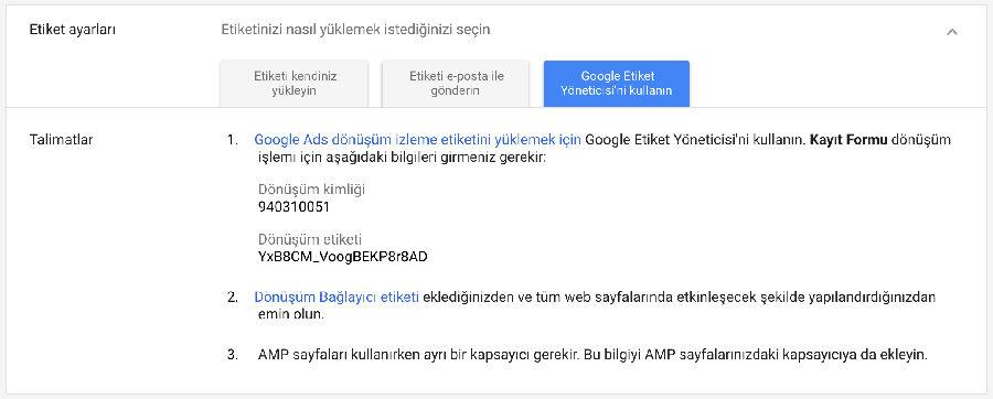 Google Tag Manager - Ads Kurulumu