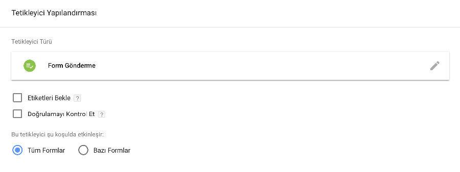 Google Tag Manager Form Gönderim İşlemi