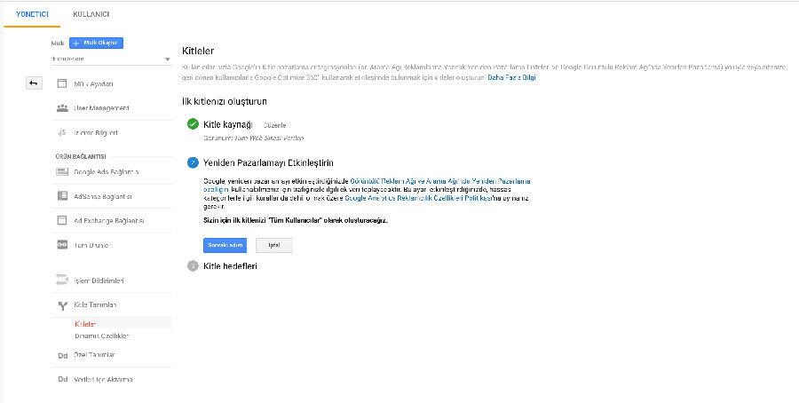 Google Analytics Kitleler