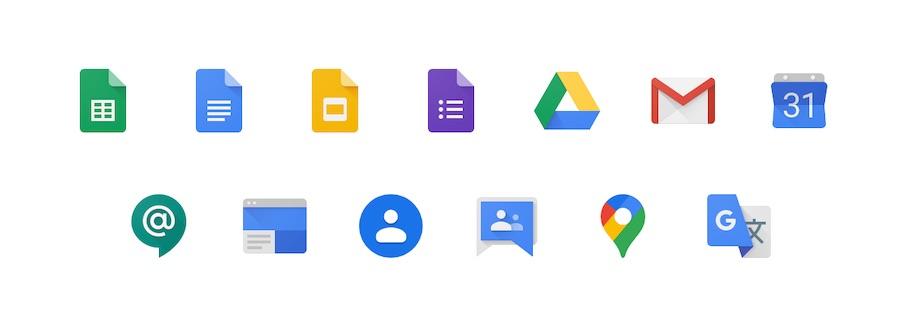 Google Apps Script tarafından desteklenen uygulamalar