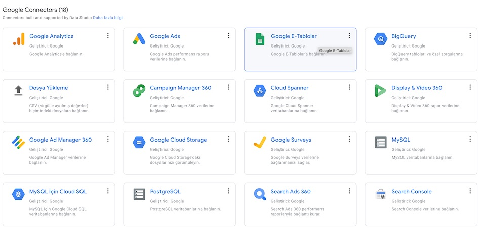 GDS - Google Sheets