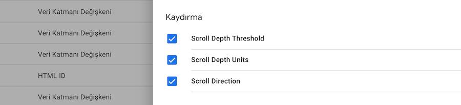 GTM Scroll Depth