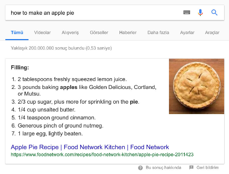 Google Search Rich Snippets
