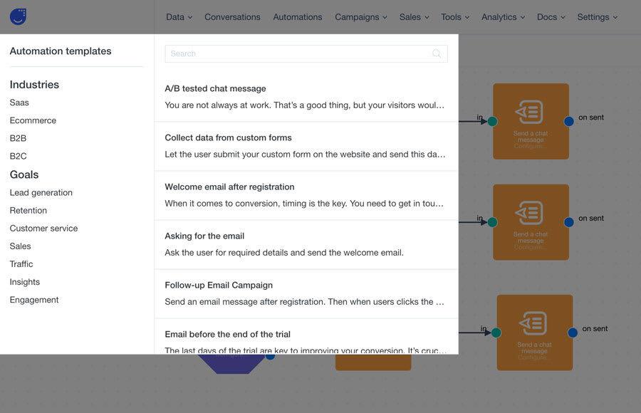 User.com Otomasyon Şablonları
