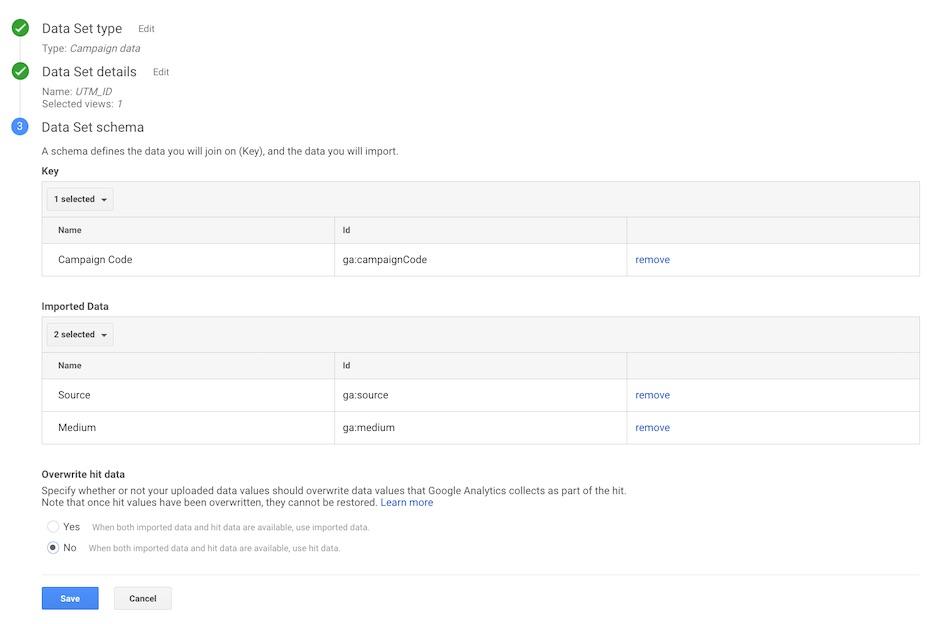 Google Analytics - Verileri İçerik Aktarma