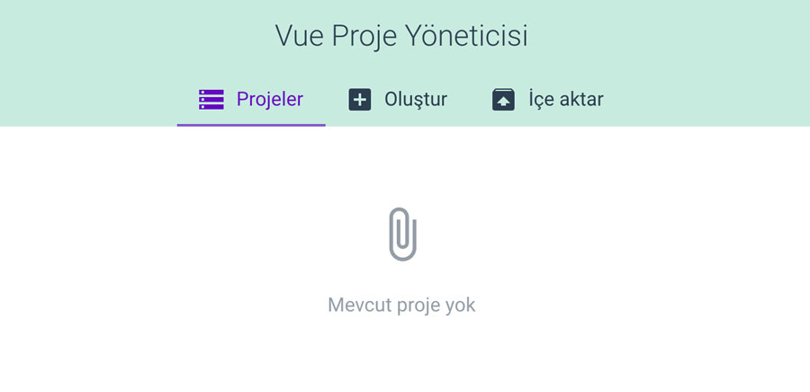 Vue Create