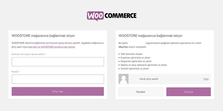 WOO API Kullanıcı Oluşturma